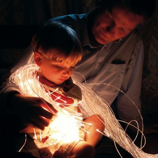Micro LED Fibre Optic Sensory Lighting Kit