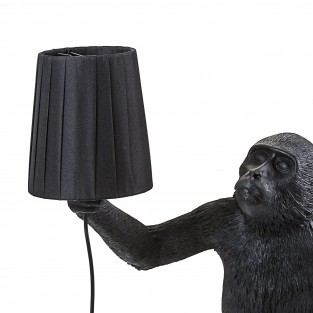 Seletti Monkey Lamp Shade - Black