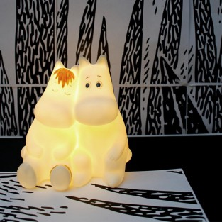Moomin & Snorkmaiden LED Lamp
