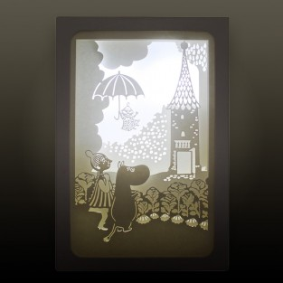 "Moomin Shadow Box ""Umbrella"""
