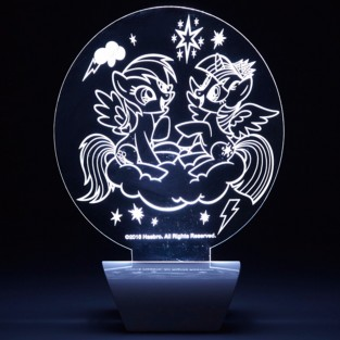 My Little Pony Etched Lamp