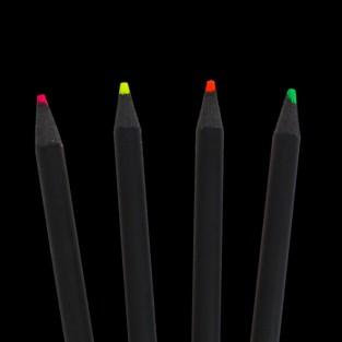 Neon Pencils (4 Pack)