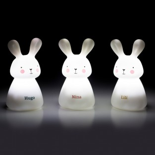 Rechargeable Bunny Nightlights (3 Pack)