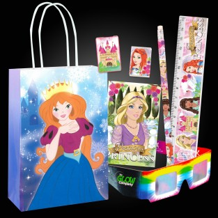 Princess Party Bag Kit (12 pack)