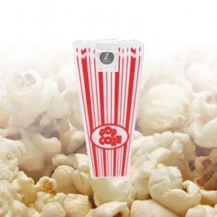 Plastic Popcorn Holder x 2