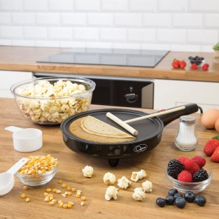 Popcorn and Crepe Maker