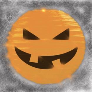 Pumpkin 3D Paper Lantern Shades