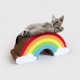 Rainbow Cat Scratch Scratcher
