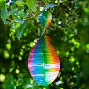 Rainbow Wave Wind Spinner