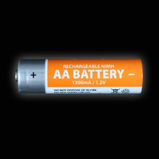 Individual Rechargeable 1300mA NiMH AA Battery