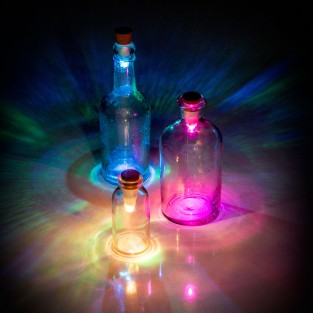 Rechargeable USB Bottle Light