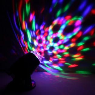 Rotating Kaleidoscope Projector Lamp