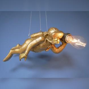 Scuba Steve Hanging Monkey Light