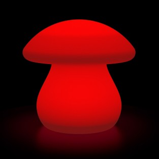 Large Solar Mushroom Mood Light