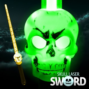 Flashing Skull Sword Wholesale