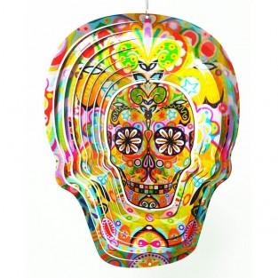 Skull Wind Spinner
