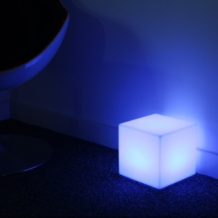 Rechargeable 20cm Mini Cube Lamp