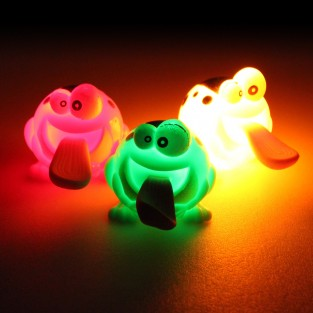 Light Up Slingshot Frog