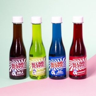 Slush Puppie Syrup Selection 4pk 180ml