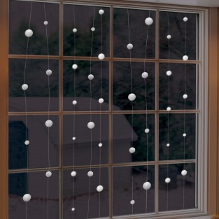 Snowball Hanging Decoration