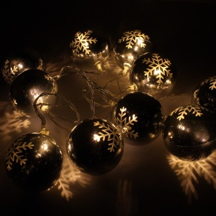 Snowflake Bauble Lights