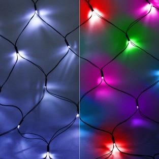 Solar 80 LED Net Lights by Gloworm