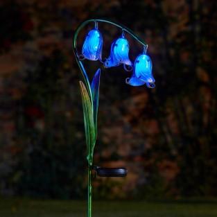 Solar Bluebell Stake Light