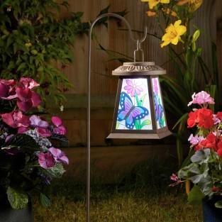 Solar Butterfly Lantern