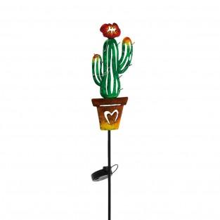 Solar Cactus Stake