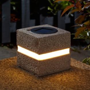Solar Cube Lights (2 pack)