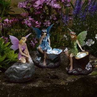 Solar Fairy Spotlights (3 pack)