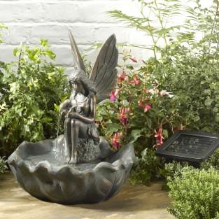 Solar Fairy Water Fountain