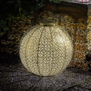 Solar Giant Damasque Lantern
