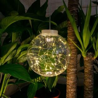 Solar Hanging Sparkle Ball