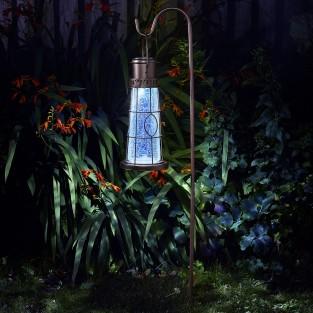 Solar Lighthouse Lantern Stake Light