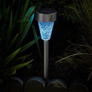 Solar Mosaic Stake Light - 6pk