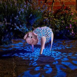 Solar Silhouette Delilah Pig