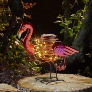 Solar Spiralight Flamingo