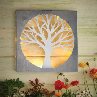 Solar Wall Art - Tree by Eden Bloom
