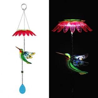 Solar Hummingbird Mobile