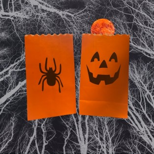 Spooky Candle Bags - 3 Pack