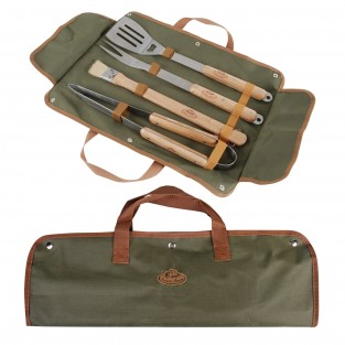 Deluxe Stainless Steel BBQ Tool Set