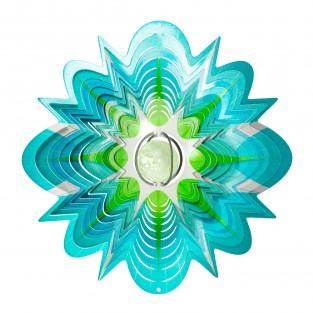 Star Splash Wind Spinner with Glow Ball