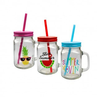 Summer Mason Drinking Jars (3 pack)