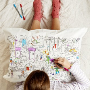 The Doodle Fairytales and Legends Pillowcase