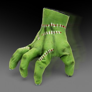 Sound Activated Crawling Hand