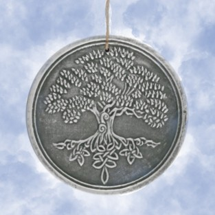 Terracotta Tree of Life Sign