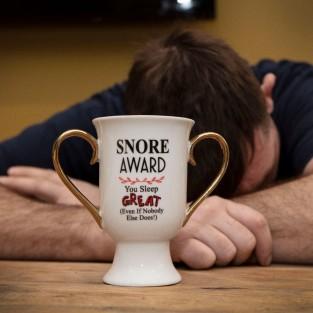 Trophy Mug - Snore Award