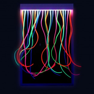 UV Mirror with Strands