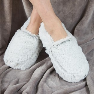 Warmies Slippers Grey